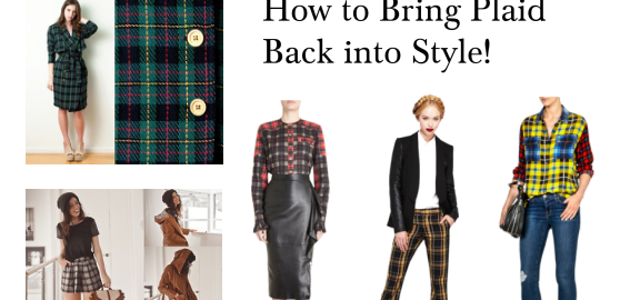 Wear Plaid Fashionably