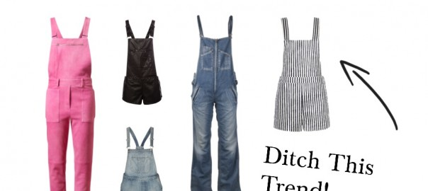 Overalls Are Not In Style