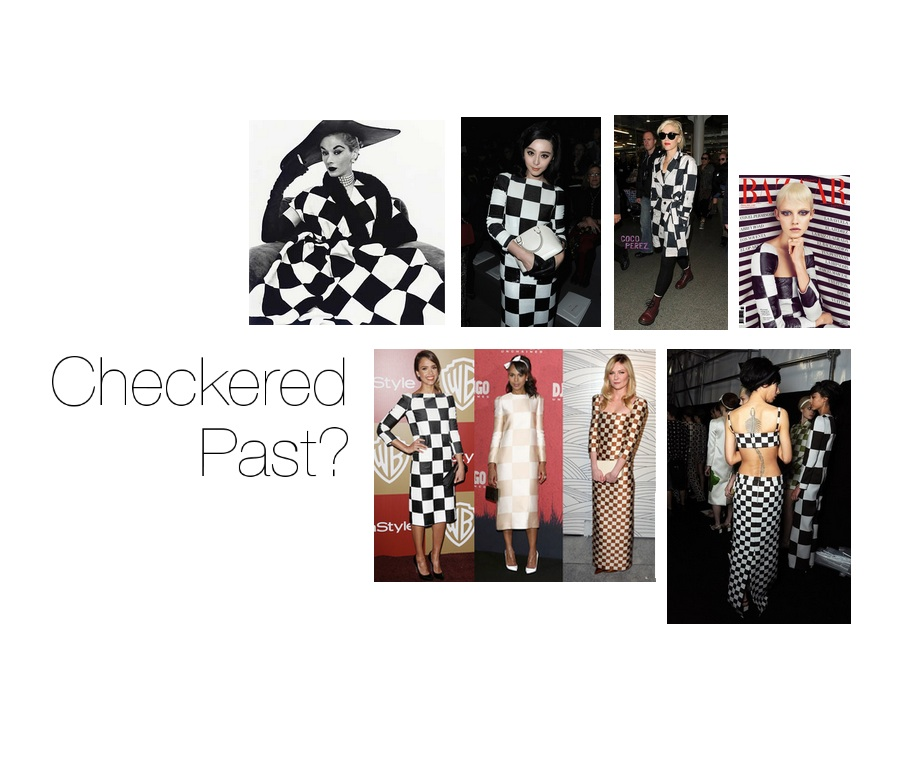 PInk Slip the Checkers Fashion Trend