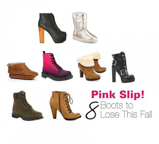 8 Boots to Lose this Fall