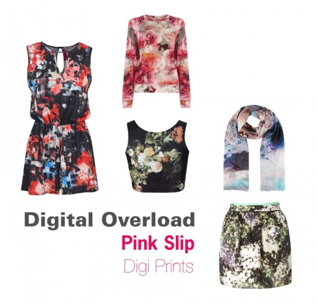Fashion Fads Digital Prints Fashion Trend 2014